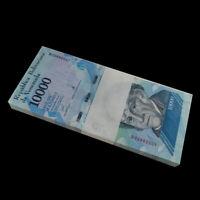 Bundle, Lot 100 PCS, Venezuela 10000 10,000 Bolivares, 2016/2017, P-NEW, UNC