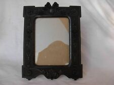 ANTIQUE FRENCH  GUTTA PERCHA PHOTO FRAME,LOUIS XVI STYLE,LATE 19th.