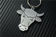 BULLS HEAD Keyring keyfob Schlüsselring porte-clés PUB PUBLIC HOUSE COW HEIFER