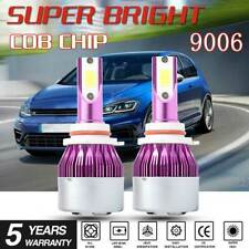 2PCS 9006 Car LED Headlight Conversion 100W 20000LM Hi/Lo Beam White Bulbs Light