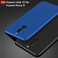 Soft Silicone Case Back Cover For Huawei Mate 10 lite Nova 2i Luxury Ultra-thin