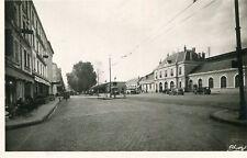 ROANNE LOT de 4 cartes Gare Péniche bache 1911 Nouveau barrage Eglise St Louis