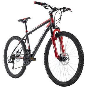 "VTT Homme 26"" aluminium Xtinct noir-rouge 21 vitesses KS Cycling M853M"