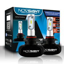NOVSIGHT 50W 9005 HB3 CSP LED Headlight Bulb Conversion Kit Car White Fog Lamps