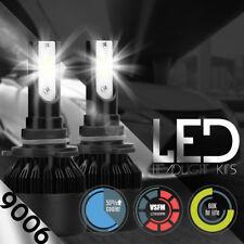 NEW 2x 9006 HB4 6000k Diamond White Cree Led 100W Headlight Bulbs Kit Fog Light