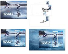 US & Canada - Hockey Joint Issue - MNH Souvenir Sheets & FDCs 2017 - 7 Items