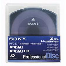 Sony PFD23 XDCAM 23GB Disc. 50x Pack - NEW! $13 ea.