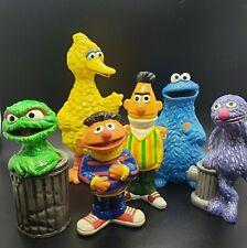 Vintage 1976 Gorham Sesame Street Figurines (6)