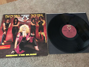 TWISTED SISTER - Under The Blade ATLANTIC LP Original With Sleeve EX Vinyl