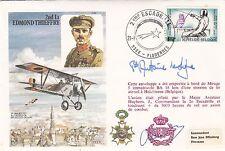 C55c 2nd Lt Edmond Thieffry.  Signed.Prince Antoine de Ligne. WW11 Pilot
