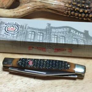 "Robert Klaas Medium Stockman 3 3/8"" Pocket Knife KC6329BR"