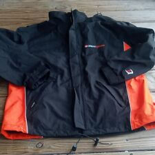 New listing outdoor catalyst goretex mens jacket medium orange black