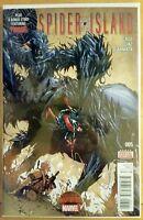 SPIDER ISLAND #5 Secret Wars (2015 MARVEL Comics) ~ VF/NM Comic Book