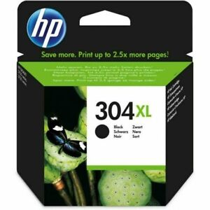 HP 304XL Original ink Black or Colour  New 24.75 & vat  Free P&P