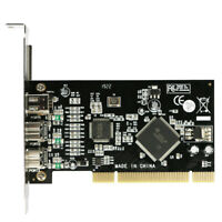 PCI Combo Add on Cards 2x IEEE 1394B 9 Pin &1x1394A 6 Pin 1394 Extension Adapter