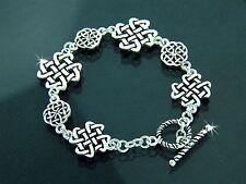 Celtic Love Knot Toggle Bracelet
