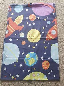 Kids Single Duvet Cover & Pillow Case (SPACE)
