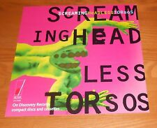 Screaming Headless Torsos Poster 2-Sided Flat Square 1995 Promo 12x12