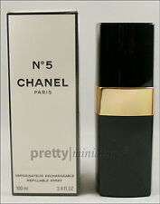 ღ Chanel No 5 Rechargeable Refillable - Chanel - OVP EDT 100ml
