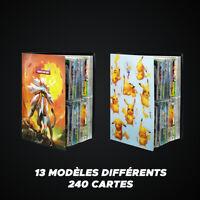 Classeur de Cartes Pokémon | Pour Ranger sa Collection | 240 pochettes Plastique