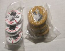 "Reproduction BABE RUTH Baseball Club & Never Forgotten 1.5"" Pin LOT of 12 NM 9.4"