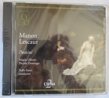PUCCINI : MANON LESCAUT 2-CD SET - BRAND NEW & FACTORY SEALED