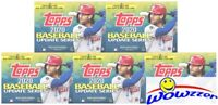 (5) 2020 Topps Update Baseball EXCLUSIVE Blaster Box-5 MEDALLION COIN RELIC