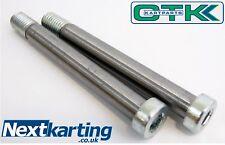Genuine Tony Kart (OTK) M10 x 90mm King Pin Bolts X2 Pair 2004- / NEXTKARTING