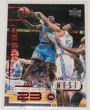1998/99 Michael Jordan NBA Upper Deck The Jordan Files The West Insert Card #164