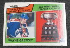 1983-84 O-Pee-Chee #204 Wayne Gretzky Ross - NM-MT/MT (NICE) (CS)