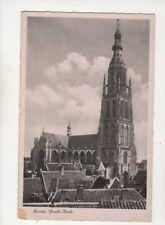 Breda Groote Kerk Netherlands Vintage Postcard 379b