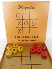 Vintage MAGNETIC TIK-TAK-TOE Game by Drueke Games, Grand Rapids, Michigan