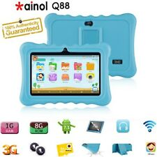 "7"" Ainol Q88 Kids Tablet PC 1G+8GB Android 7.1 3G WIFI BT para niños de educación UK"
