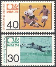 Germany Football Sports Postal Stamps