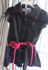 SO ADORABLE! GUESS Soft Denim Dress, Blue Toddler Girl Size 18 Months Ruffle
