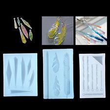 Dried Flower Resin Decorative Craft DIY Pendant earring Mold epoxy resin molJQA