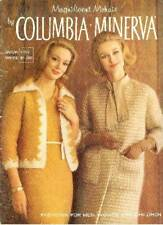 Vintage Columbia Minerva Knitting Book #750 Magnificent Mohair Fashion for All