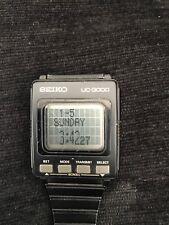 Seiko UC-3000 VERY Rare Vintage Computer Watch (Memo-Diary)