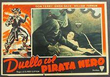 Duello col Pirata Nero - Terry & Gaze Locandina 1938 Film Poster Plakat (Y-4437+