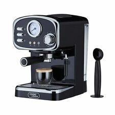 Cooks Professional Espresso Coffee Machine Maker 15 Bar Retro Barista 1150W