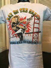 Rare VTG 85 Tour Shirt Sz M/L Ratt Rock Y&T Metal Metallica Yngwie Scorpions Dio