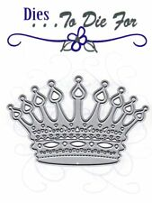 Dies ... to die for metal cutting craft die Queen King Crown Princess Prince