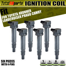 6Pcs Ignition Coils for Toyota 4Runner Landcruiser Prado Hilux 1GR-FE 4.0L