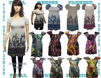 Womens Gypsy Style Tunic Top Shirt  Dress Size s/m(8-10), m/l(10-12),l/xl(12-14)