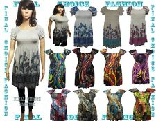 Womens Gypsy Style Tunic Top Shirt  Dress Size s/m(8-10), m/l(10-12),l/xl(12-14)
