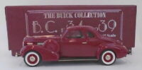 Brooklin Models 1/43 Scale BC021 - 1938 Buick Special Sport Coupe M-46S Maroon