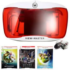 Mattel View-Master Deluxe VR Viewer w/ Three Assorted View-Master Experience Pac