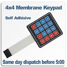 16 4x4 key switch Membrane Matrix KeyPad Arduino, RPI, PIC, AVR
