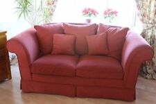 Upholstery Up to 3 Seats Solid Double Sofas