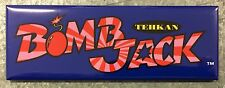Bomb Jack Arcade Game Marquee Fridge Magnet